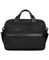 Tumi Men's Expandable Laptop Briefcase Black