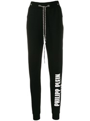 Philipp Plein Chain Track Pants Black