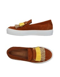 L'f Shoes Sneakers Camel