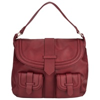 John Lewis Daria Shoulder Bag Red