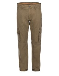 Jeep Straight Leg Cargo Pants Green