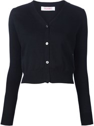 Organic By John Patrick V Neck Cardigan Black
