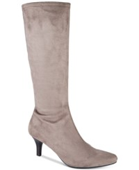 Impo Noland Pointed Toe Boots Smokey Taupe