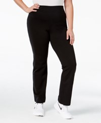 Material Girl Plus Size Yoga Pants Only At Macy's Classic Black