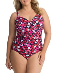 Miraclesuit Plus Baby Bloomer Sanibel One Piece Swimsuit Multi