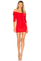 Majorelle Cypress Dress Red