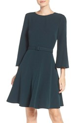 Eliza J Women's Crepe Fit And Flare Dress