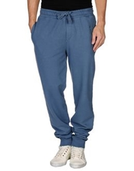 Fred Perry Casual Pants Slate Blue