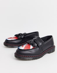 Dr. Martens Dr X The Who Adrian Loafers With Union Target Black