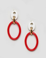Gogo Philip Philipp Resin Hoop Earrings Multi