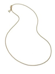 Temple St. Clair 18K Yellow Gold Ball Necklace Chain 16
