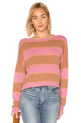 360Cashmere X Rocky Barnes Valery Sweater Pink
