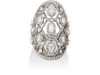 Sara Weinstock Reverie Couture Ring White Gold