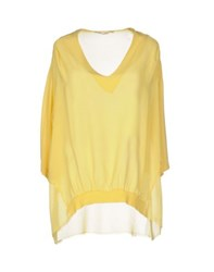Massimo Rebecchi Shirts Blouses Women Yellow