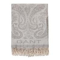 Gant Paisley Throw 130X180cm Grey