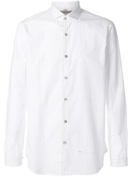 Dnl Casual Long Sleeved Shirt White