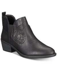 Easy Street Shoes Legend Booties Black