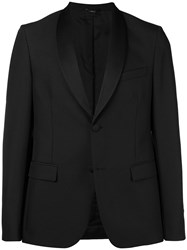Fendi Shawl Lapel Blazer Black