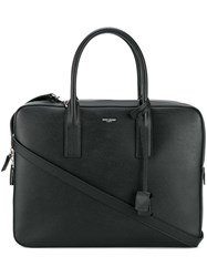 Saint Laurent Classic Small Museum Briefcase Black