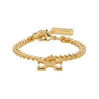 Off White Ssense Exclusive Gold Arrow Bracelet