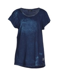Meltin Pot T Shirts Dark Blue