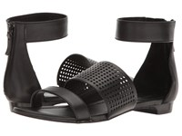 Tahari Dance Black Nappa Women's Sandals