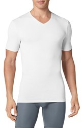 Tommy John Men's 'Cool Cotton' High V Neck Undershirt