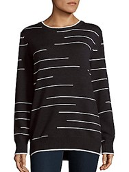 Haute Hippie Merino Wool Sweater Dark Charcoal