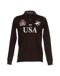 Beverly Hills Polo Club Topwear Polo Shirts Men Cocoa