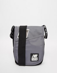 New Balance 574 Flight Bag Grey