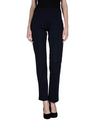Almeria Trousers Casual Trousers Women Dark Blue