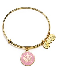 Alex And Ani Spiral Sun Bangle Charity By Design Collection Yellow Gold