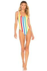 Solid And Striped The Anne Marie One Piece Red