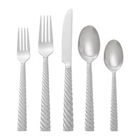 Michael Aram Twist 5 Piece Cutlery Set Stainless Steel