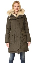 Woolrich Military Parka Dark Green