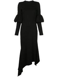 Christian Siriano Fitted Puff Sleeved Dress 60