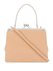 Simone Rocha Square Tote Bag Neutrals