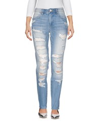 Fracomina Denim Denim Trousers Blue