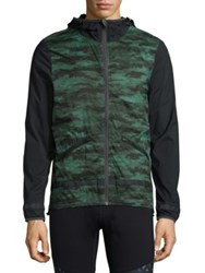 Mpg Discover Hooded Jacket Green Camo