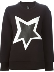 Neil Barrett 'Pop Art Star' Sweatshirt Black