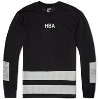 Hood By Air Long Sleeve Jock Tee Black