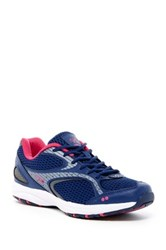 Ryka Dash Walking Sneaker Wide Width Available Blue