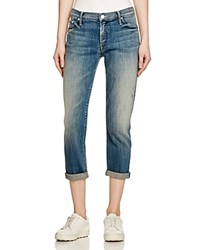 Mother The Dropout Boyfriend Jeans In Graffiti Girl