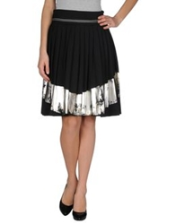 Nolita Knee Length Skirts Black