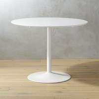 Cb2 Odyssey White Dining Table