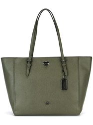 Coach Double Handles Tote Green