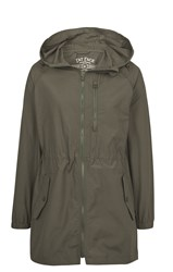 Fat Face Pac Away Parka Khaki
