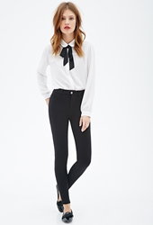 Forever 21 Classic Stretch Knit Skinny Pants