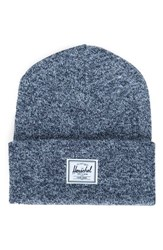 Herschel Women's Supply Co. Elmer Knit Beanie Blue Heather Navy