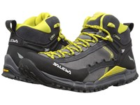 Salewa Hike Roller Mid Gtx Pewter Kamille Men's Shoes Black